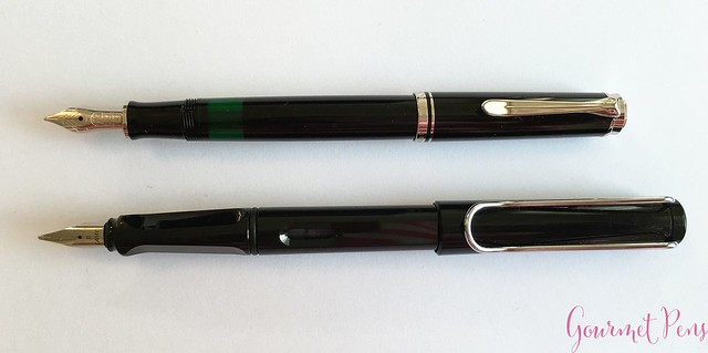 Review Pelikan Souveran M405 Fountain Pen - Fine @PenChalet 5