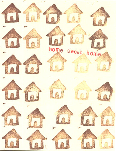 home sweet home card | by abbytrysagain
