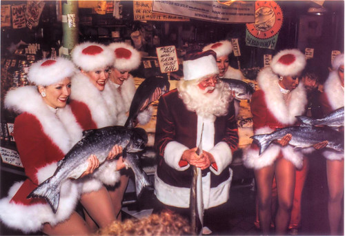 [scan] Santa, Rockettes, and Fish? | by Kuby!