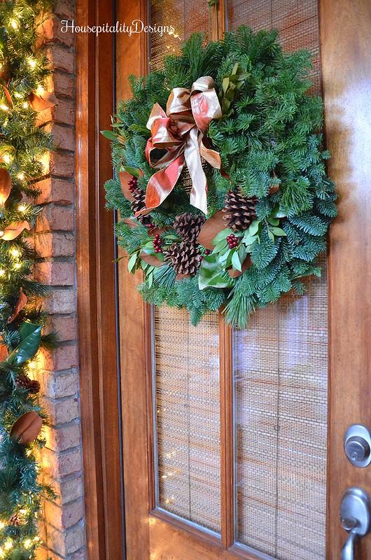 Fresh Wreath-Garland-Porch-Housepitality Designs