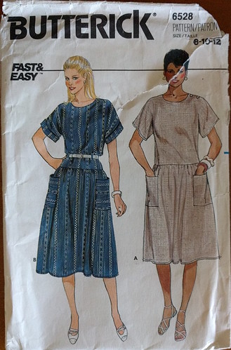 Butterick 6528 sewing pattern