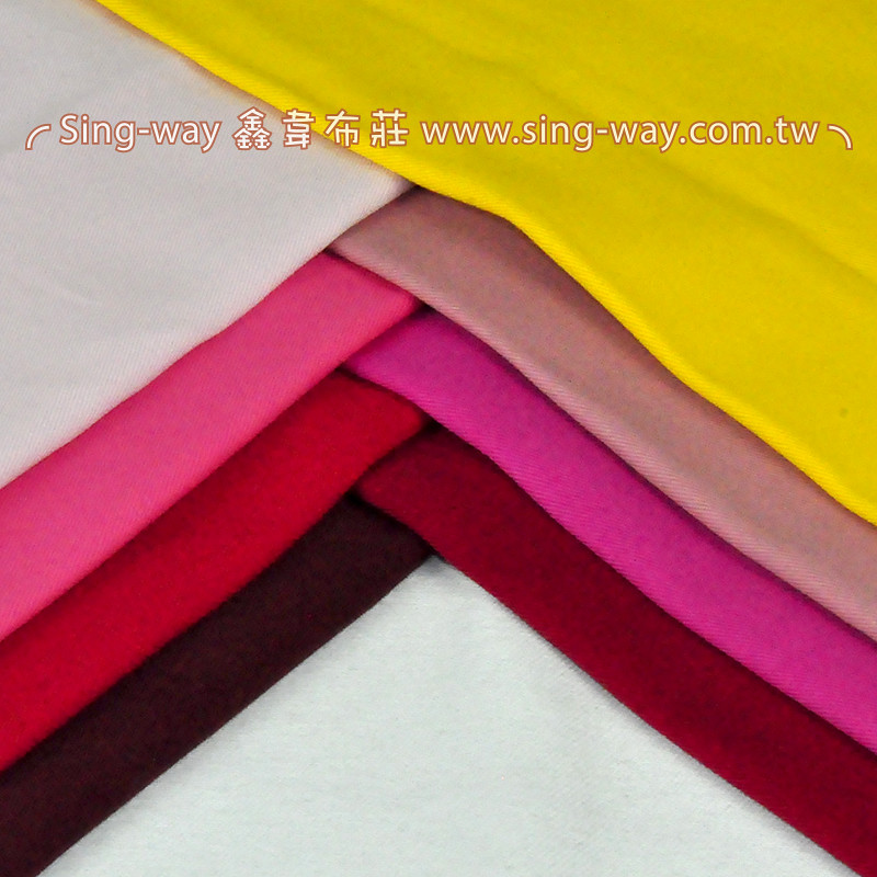 2C590037 暖色系 純棉素面 斜紋布 4尺9