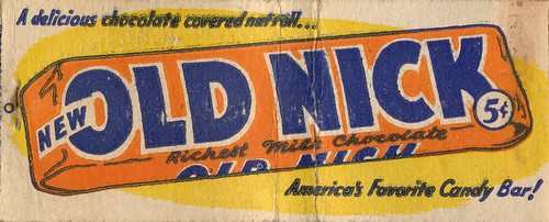 Old Nick Candy Bars Oliver Hammond Flickr