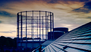 Gasometer Later | by maz hewitt
