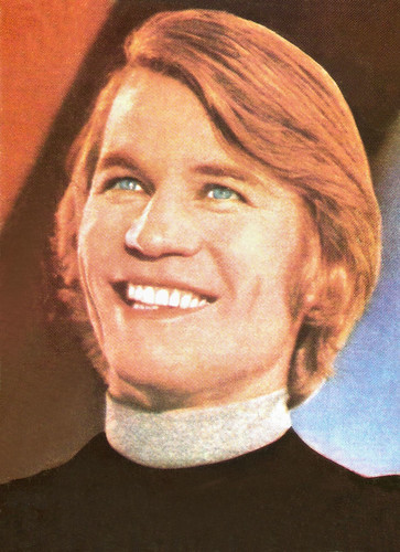 Michael York in Logan's Run (1976)