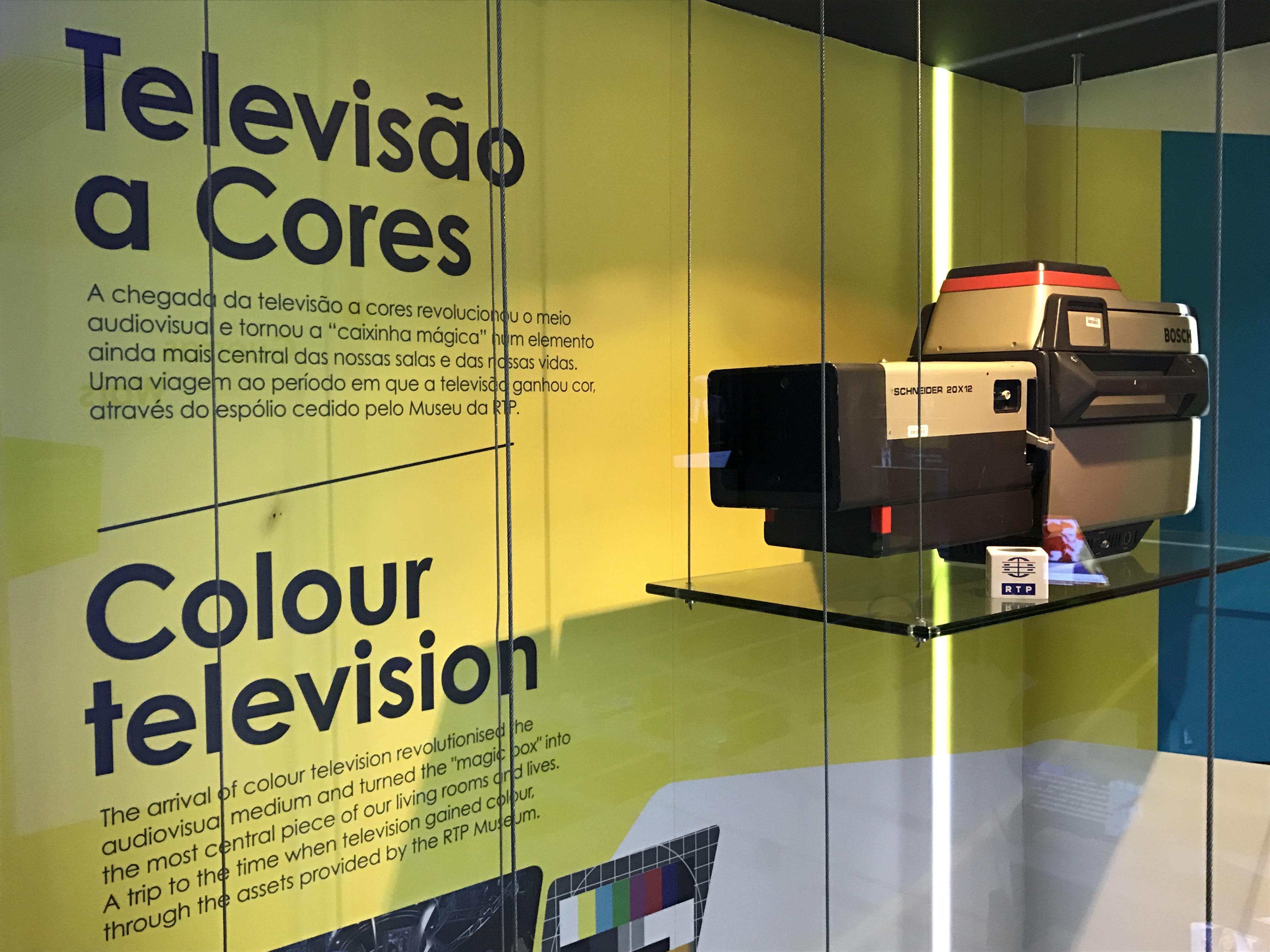 Antiga camera da RTP, Museu das Notícias, Sintra