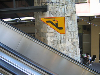 Recursive Escalator Sign | by Lush