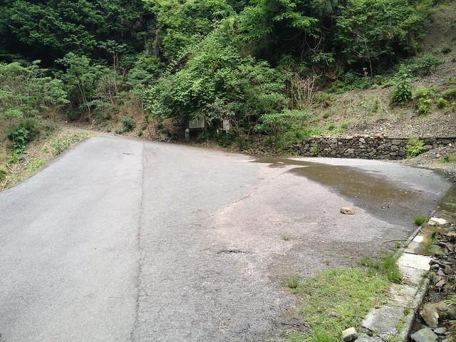 不破の滝 駐車スペース