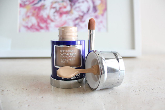 Give Yourself A Skin Treat With La Prairie S Skin Caviar Concealer Foundation Maddy Loves