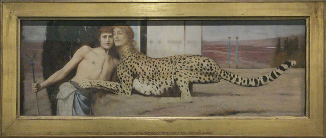 The Caress, Fernand Khnopff