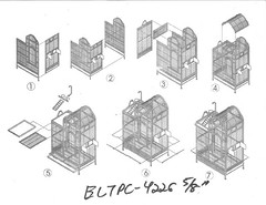 ELTPC-4226 flight cage instructions | by aisinbiya