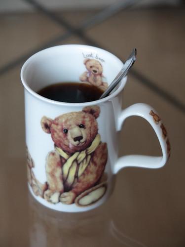 Erster Kaffee im Neuen Jahr