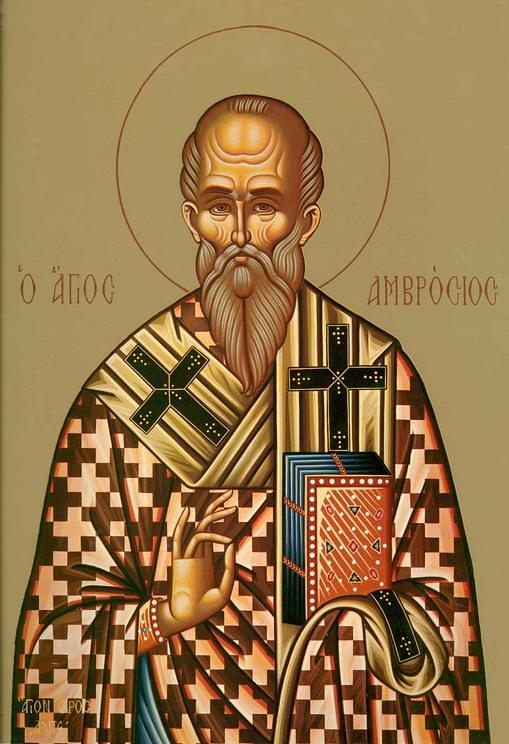 Sfantul Ambrosius al Mediolanului