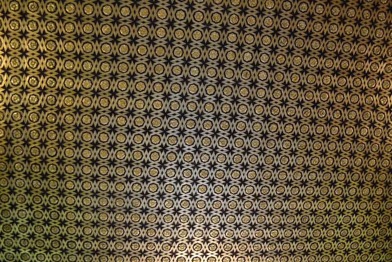 Techo de la Sala de Audiencias en el Alcázar de Sevilla