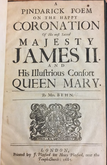 Behn Title Page