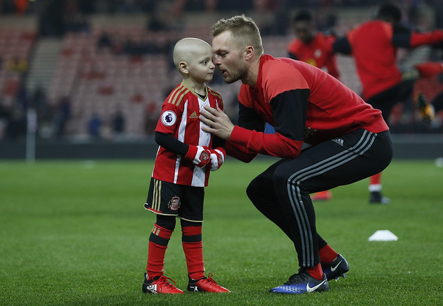 Cancer-hit Bradley Lowery's prize-winning goal for Sunderland