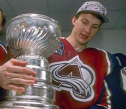 Ozolinsh Stanley Cup