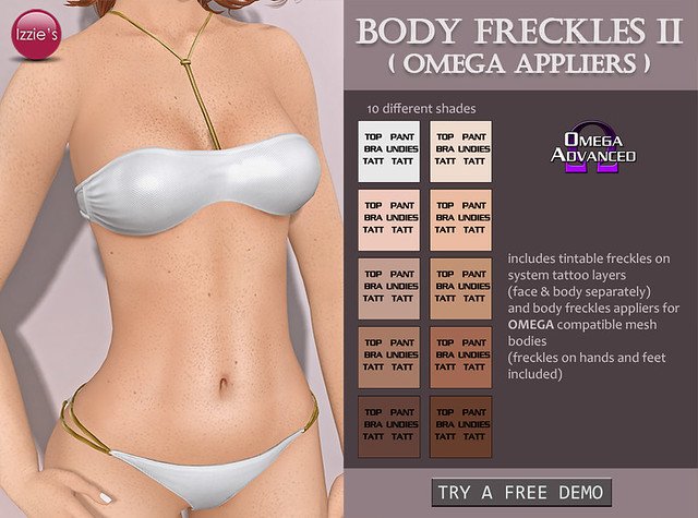 Body Freckles II (Omega Appliers)