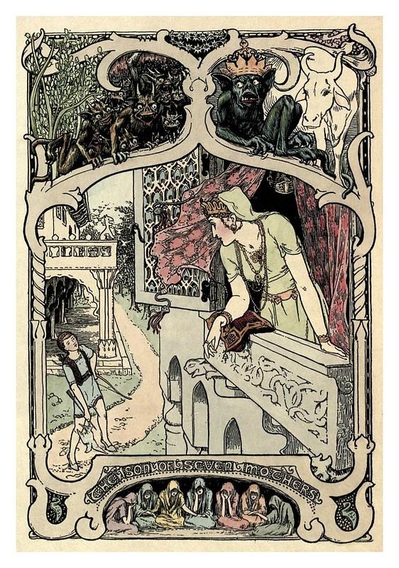 007- El hijo de siete madres-Cuentos de hadas indios-1892- John Batten