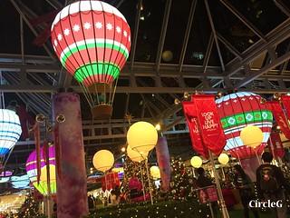 CIRCLEG 香港 太古 鰂魚涌 太古城 TAIKOO Cityplaza 熱氣球 2016聖誕 遊記 聖誕 2016  (4)