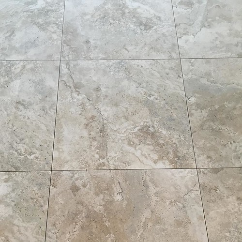 The 24x24 Tarsus Grey Polished Porcelain Tile Is Coming Ou