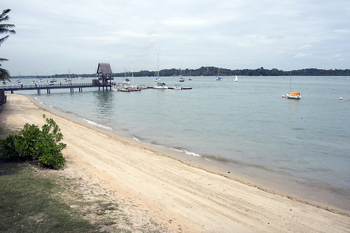 Oil spill in the Johor Strait (4 Jan 2017) from Changi Sailing Club