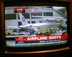 "BBC News: ""AIRPLANE SHOTS"" 