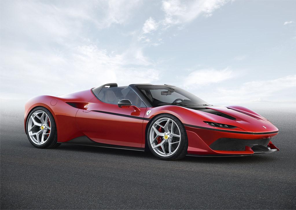 488 Spider-based Ferrari J50 revealed