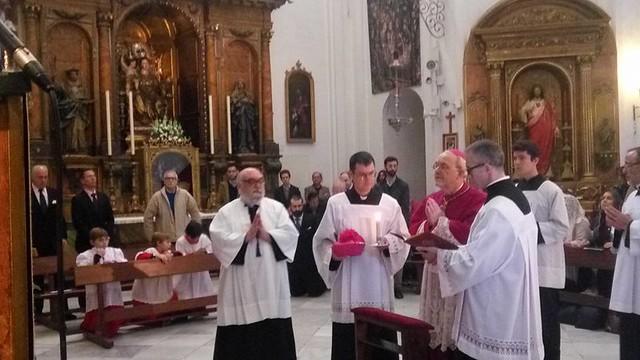 Mons. Schneider en Sevilla