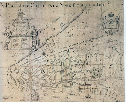 Map Of New York New York North Mission.Early Maps Of Manhattan The Collect Pond