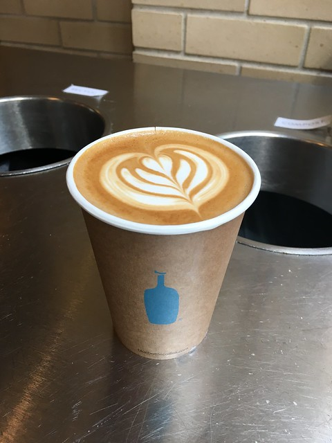 blue bottle coffee SF Ferry Building