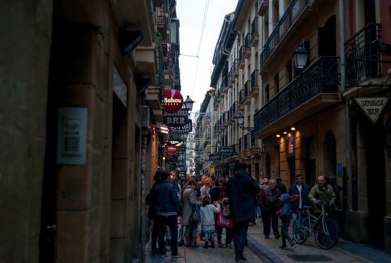 Parte Vieja de Donostia / San Sebastián