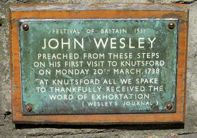Wesley Commemoration, Knutsford