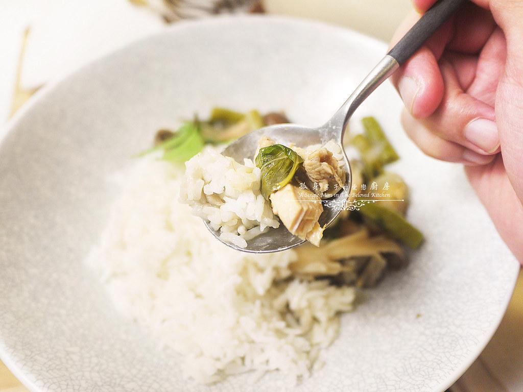 孤身廚房-滿滿新鮮香料版的泰式綠咖哩雞37