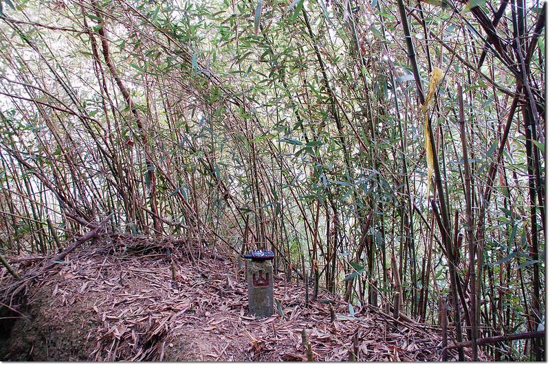 東麻竹湖山山字水泥柱(Elev. 621 m) 1