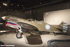 NL10626 44-7192 - 32932 - USAAF - Curtiss P-40N Warhawk - The Museum Of Flight - Seattle, Washington - 131021 - Steven Gray - IMG_3698