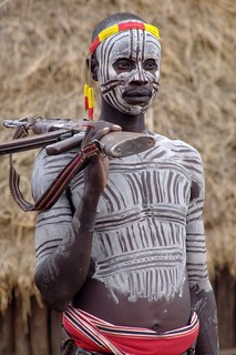 Karo man with AK-47 | by CharlesFred