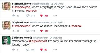 #HarperAirport