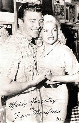 Mickey Hargitay and Jayne Mansfield