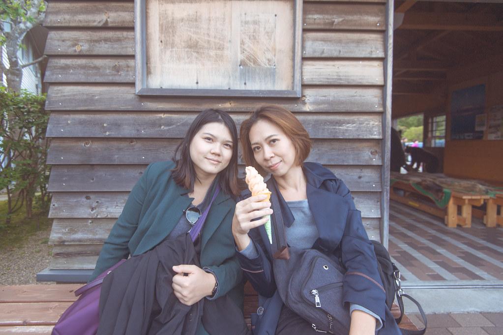 函館大沼公園哈密瓜冰淇淋