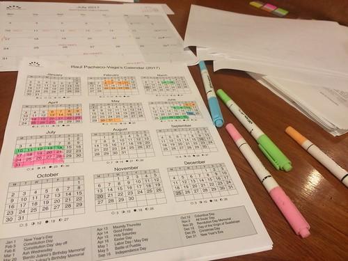 Reverse planning