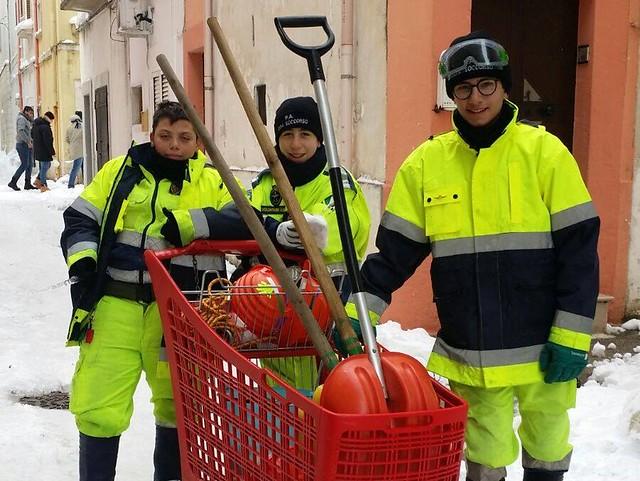 mini volontari gioia soccorso