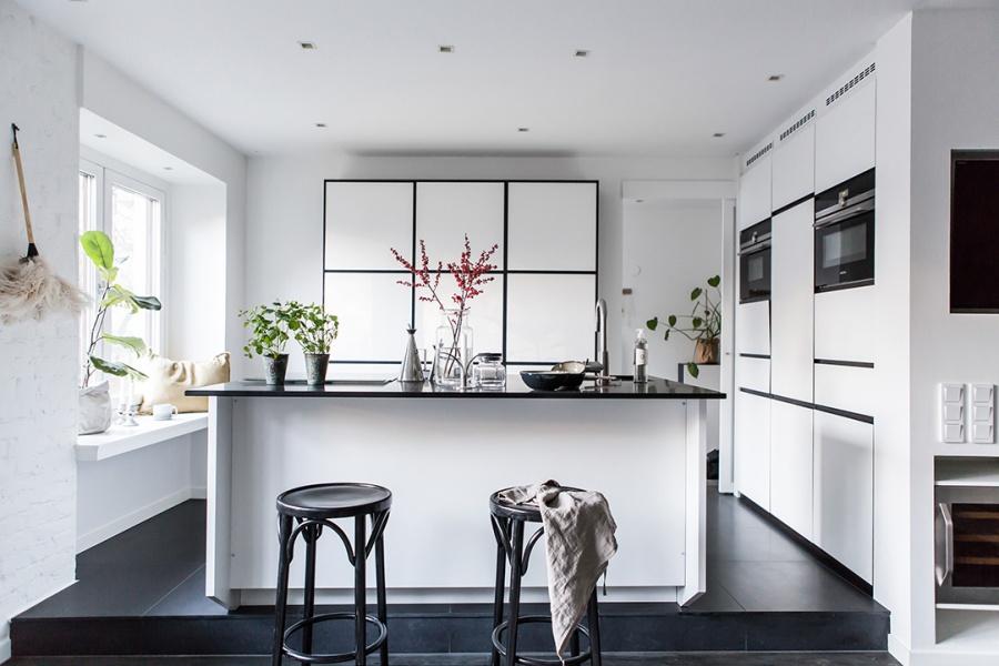 Stylish Swedish Apartment