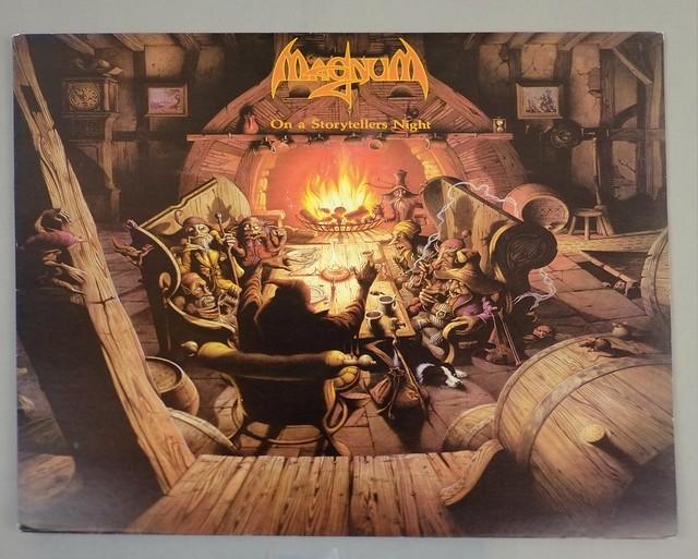 """MAGNUM ON A STORYTELLER'S NIGHT 12"""" LP ALBUM VINYL"""