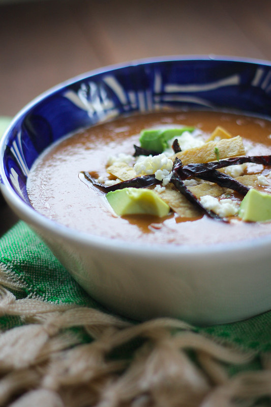 Purépecha Bean Soup
