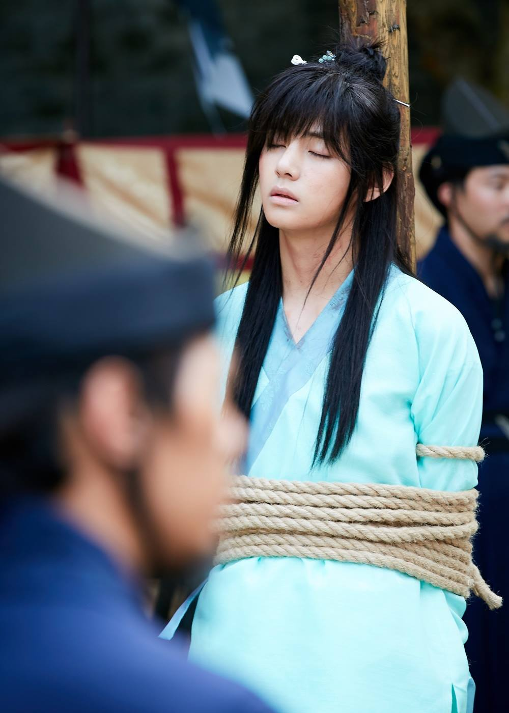 Picture Kim Taehung Bts V At Hwarang 161227