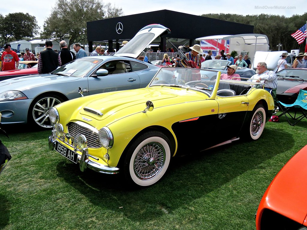Yellow and Black Austin-Healey 1
