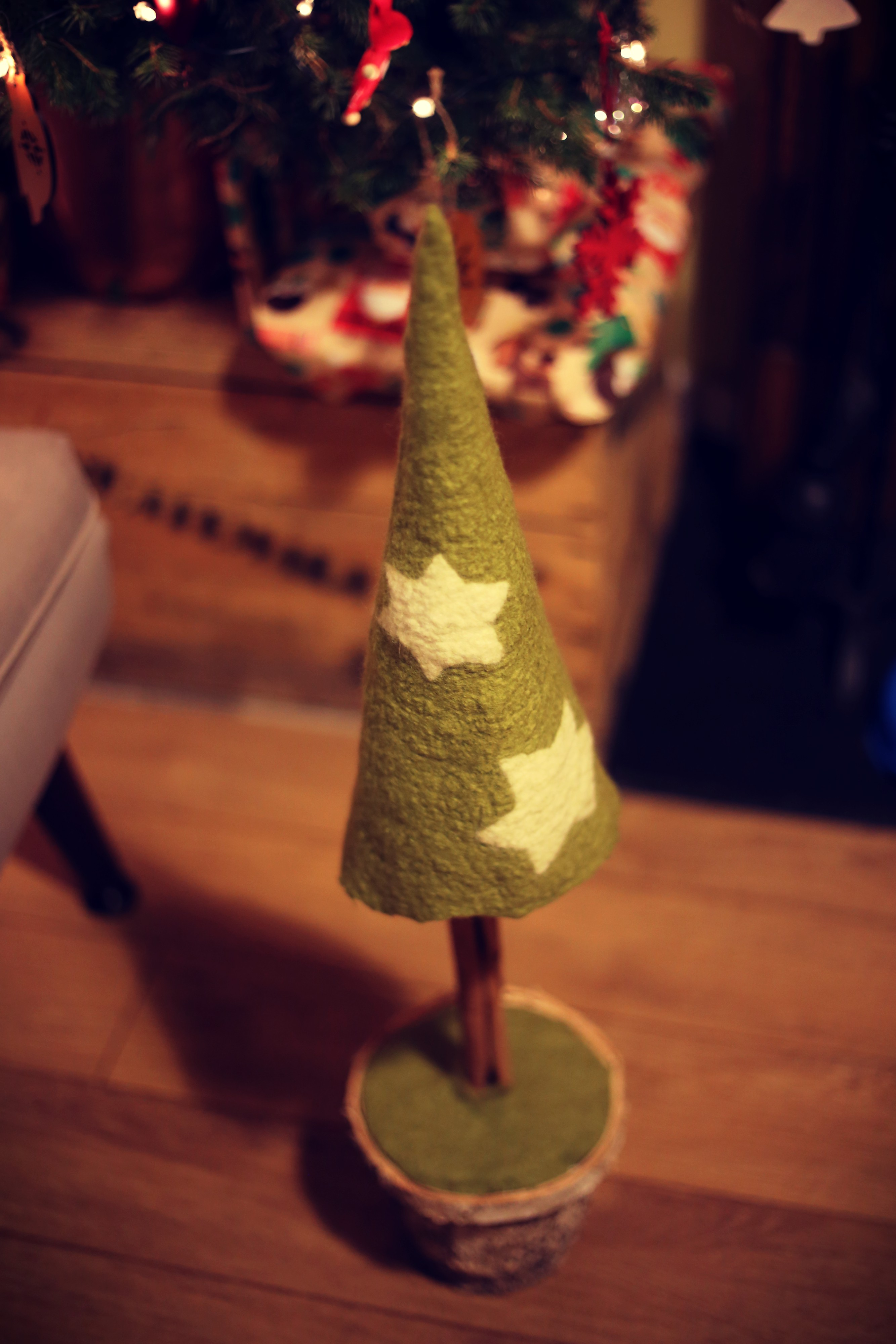chistmas tree diy