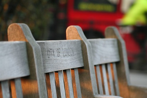 """City of London"" bench 