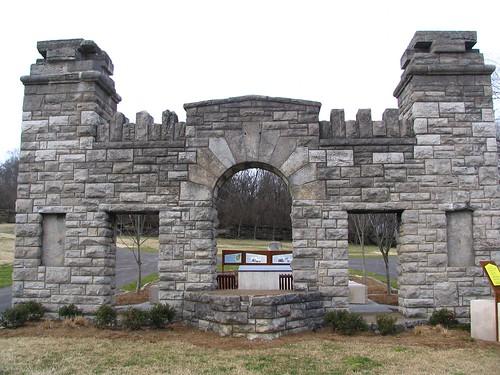 Gates to Ft. Negley